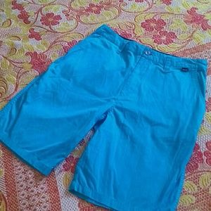 Hurley turquoise shorts 32